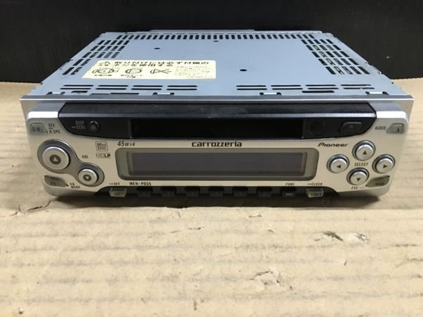 Photo1: PIONEER carrozzeria MEH-P055 MD Player (1)