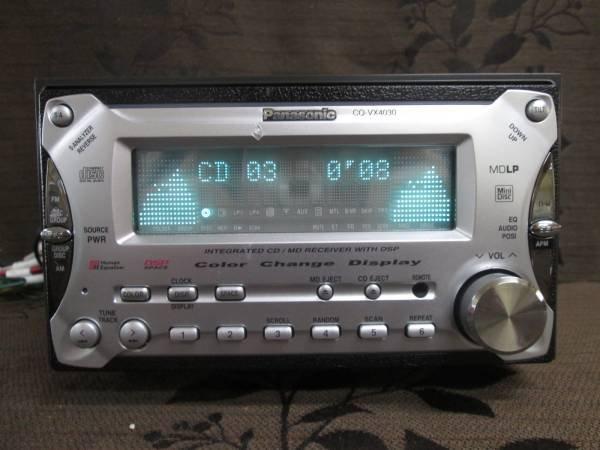 Photo1: Panasonic CQ-VX4030D CD/MD player (1)