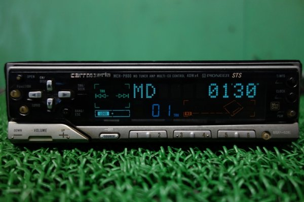 Photo1: PIONEER carrozzeria MEH-P800 MD Player (1)