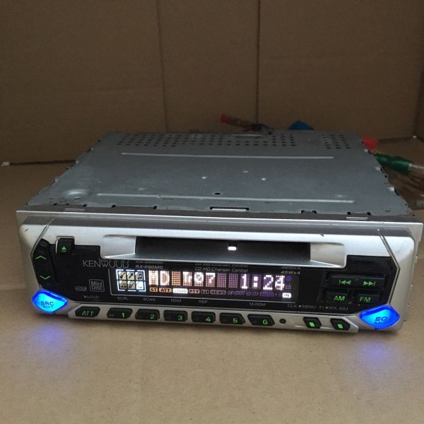Photo1: KENWOOD RX-690MD MD Player  (1)
