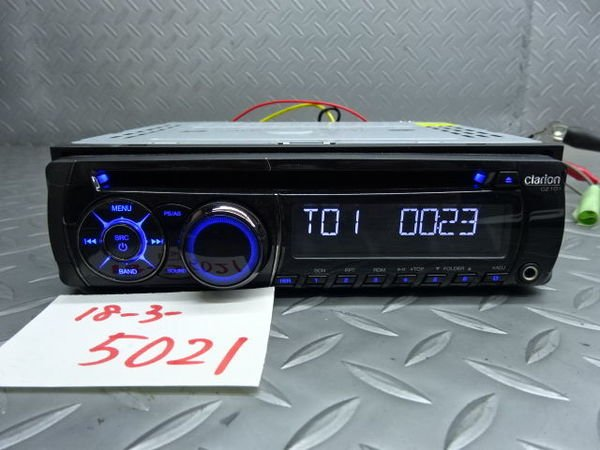 Photo1: Clarion CZ101 CD Player (1)