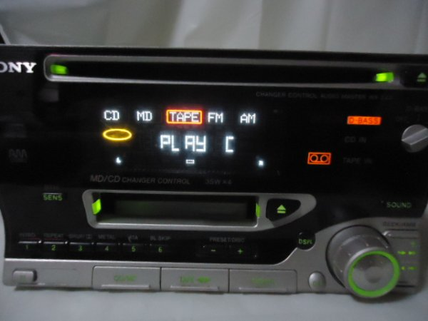 Photo1: SONY WX-C40 CD & Cassette Player (1)
