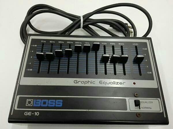 Photo1: BOSS GE-10 Equalizer  (1)