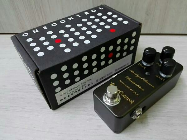 Photo1: onecontrol Broumn Distortion Effector (1)