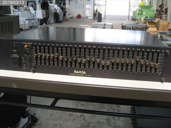 Photo1: RAMSA:WZ-9321:Graphic Equalizer (1)