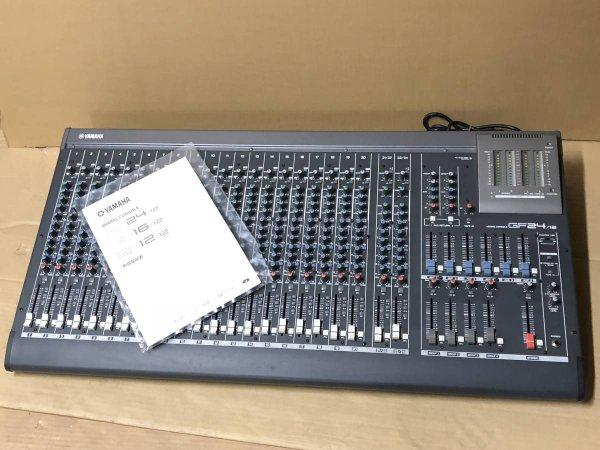 Photo1: YAMAHA GF24/12 mixer (1)