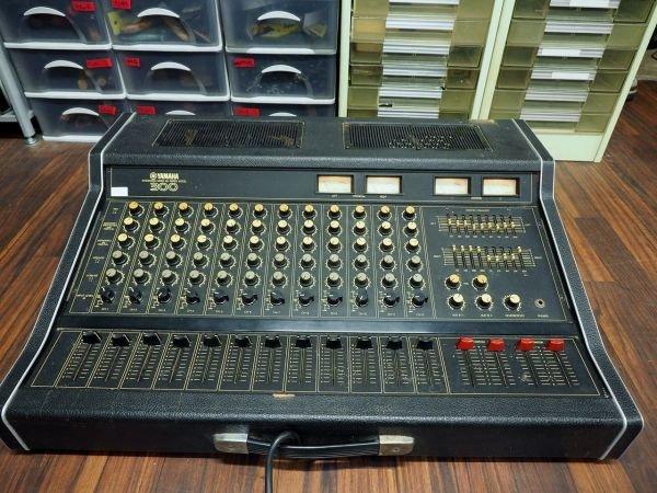 Photo1: YAMAHA mixer EM-300 (1)