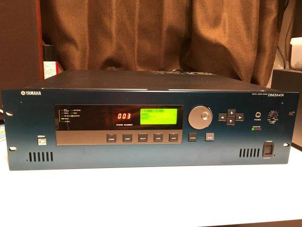 Photo1: Yamaha DME64N Digital Mixing Engine  (1)