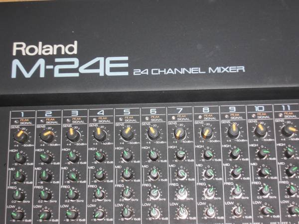 Photo1: Roland M-24E Mixer (1)