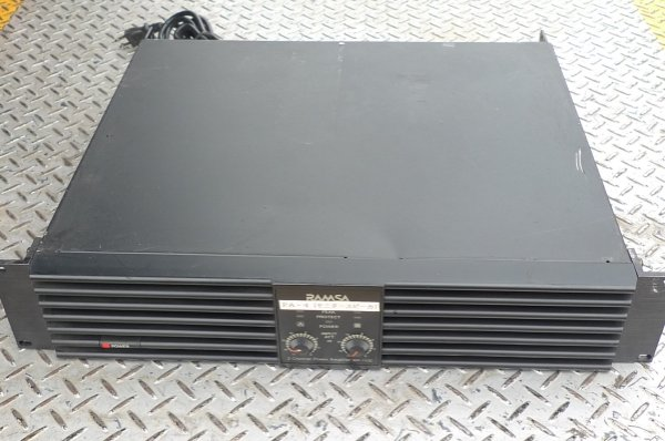 Photo1:  RAMSA WP-1100A Power Amplifier (1)