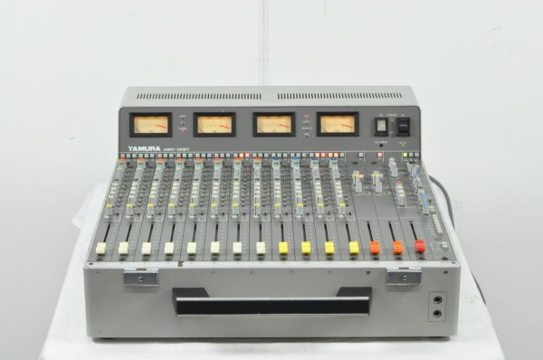 Photo1: TAMURA AMX-12ST portable mixer for business use (1)