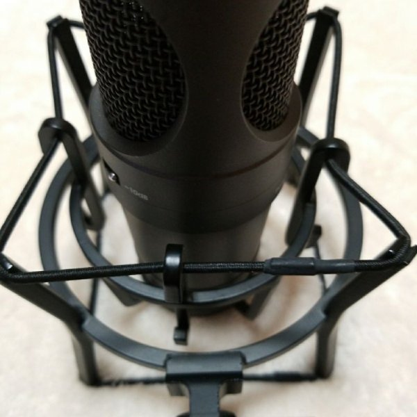Photo1: SEIDE PC-1X condenser microphone With holder (1)