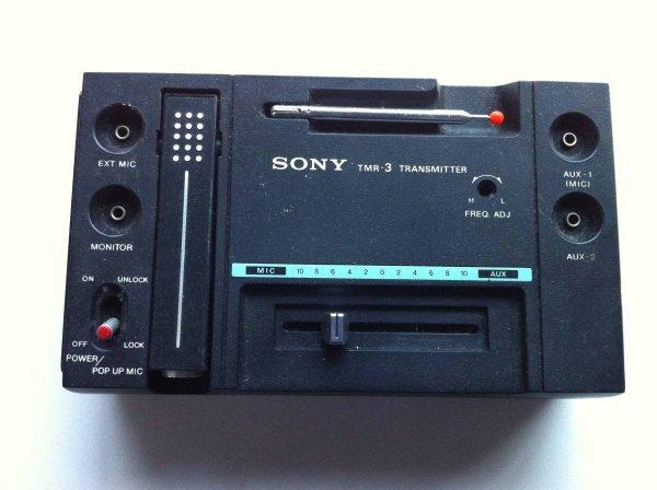 Photo1: SONY TMR-3 transmitter (1)