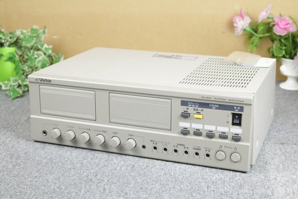 Photo1: Victor System Amplifier PA-904 (1)