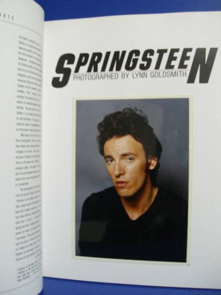 Photo1: japanese edition Bruce Springsteen photo book -for  SAVE THE CHILDREN (1)
