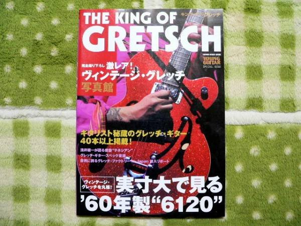 Photo1: japanese edition photo book of The VINTAGE GUITAR  - THE KING OF GRETSCH (1)