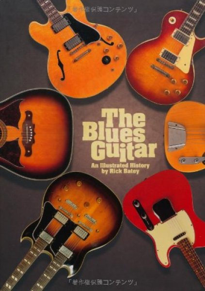 Photo1: japanese edition photo book of The VINTAGE GUITAR  - The Blues Guitar (1)