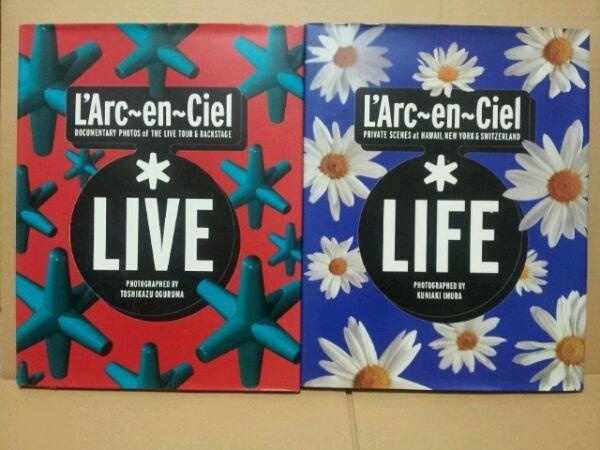 Photo1: Japanese photobook photoalbum - L'Arc‐en‐Ciel  - LIFE and LIVE Photograph book (1)