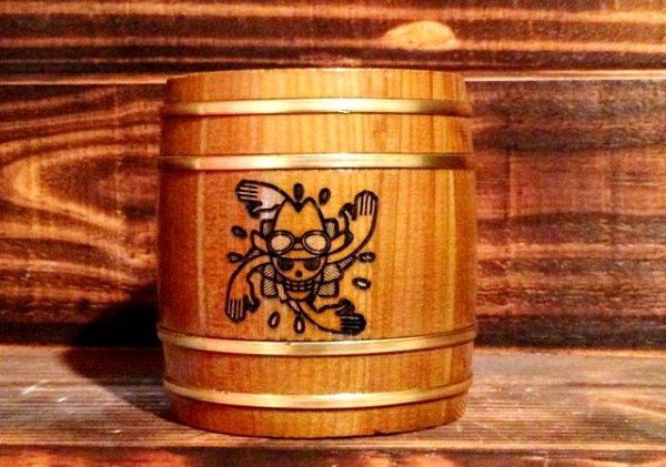 Photo1: ONE PIECE KIDARU (wooden butt) Beer Mug  New World Nico Robin ver. 380ml (1)